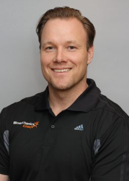 Jonas Morin Strength & Conditioning Coach